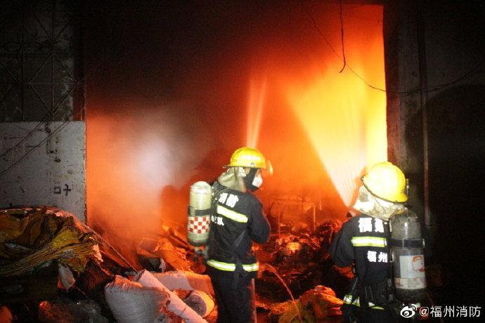 图片来源:福建省福州市消防救援支队微博。