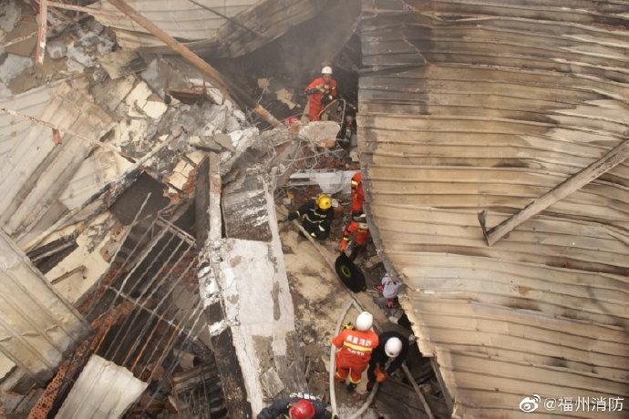图片来源:福建省福州市消防救援支队官方微博。