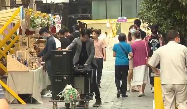 """上海发展夜间经济升级""""思南夜派对"""" 活动将持续到6月底"""