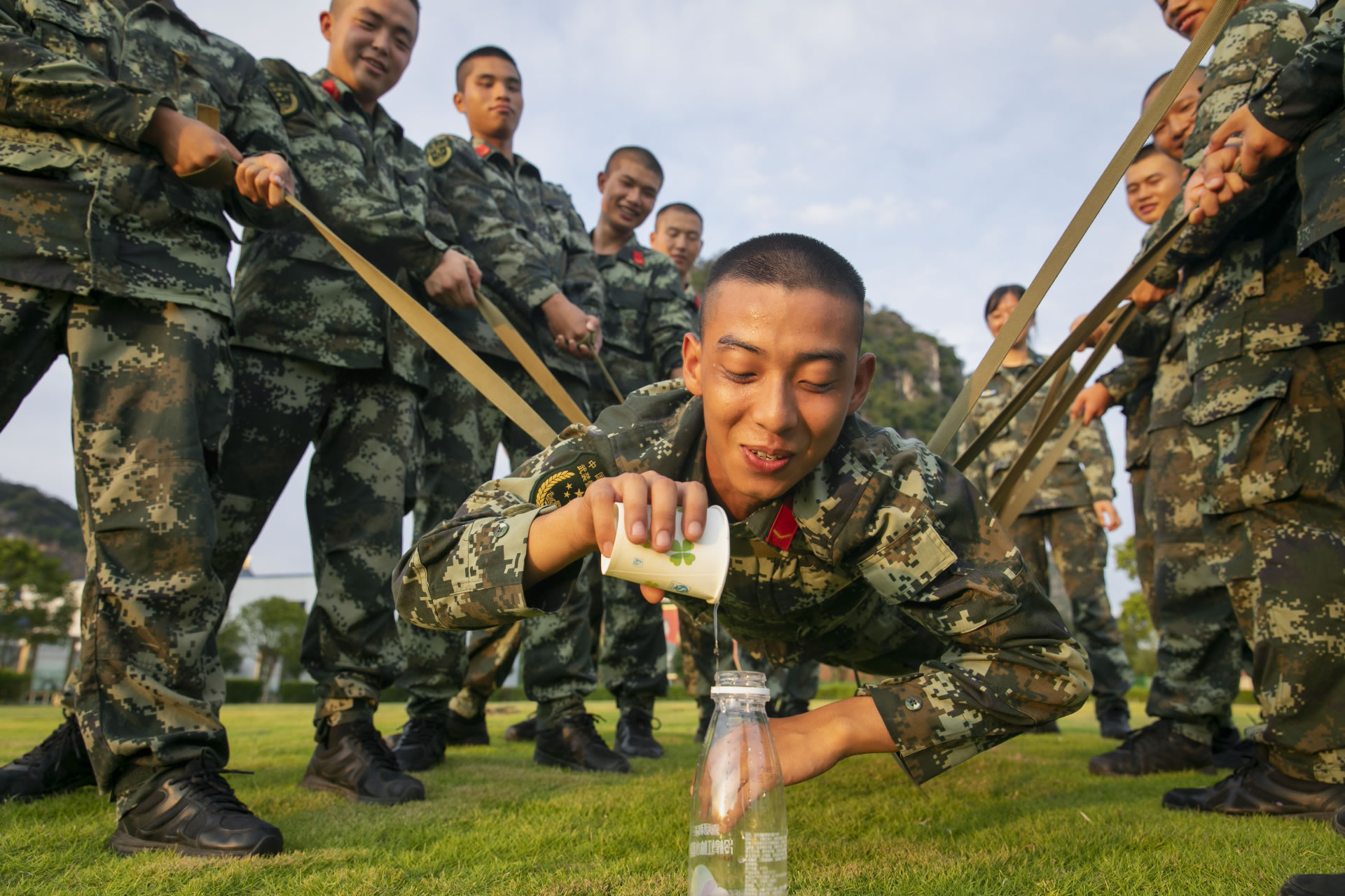 小游戏培养官兵团结协作意识