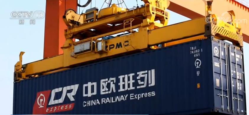 """我国与""""一带一路""""沿线国家进出口在外贸中比重继续提升"""