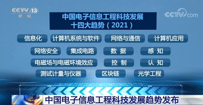 中國電子信息工程科技發展趨勢發布 詳解多領域現狀及發展趨勢