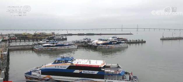 促进大湾区发展发展 澳门珠海首条水上高速客运航线开航