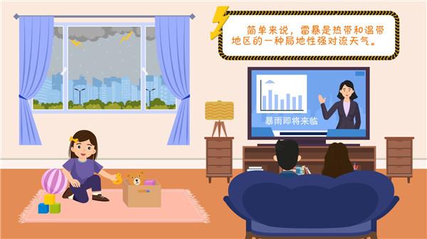 【应急科普】动画丨遇到雷暴天气如何避险-翼萌网