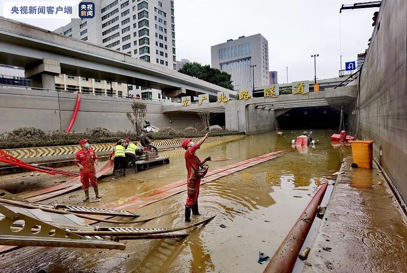 《【恒达注册首页】被暴雨淹没的郑州京广路隧道预计今日可完成抽水工作》