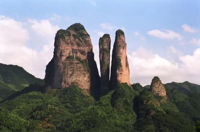 江郎山。江山林业局 提供